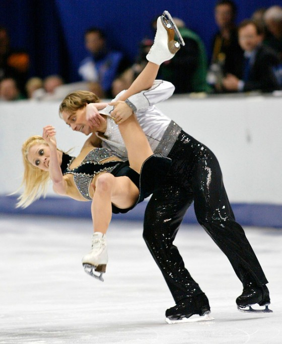 CANADIANS BOURNE AND KRAATZ END FREE DANCE PERFORMANCE AT WINTER GAMES