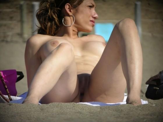 Nude-Beach-Beautiful-Milf-Open-Pussy-3s
