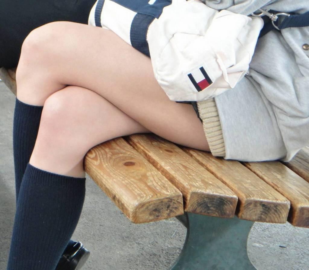 盗撮sirouto【女子高生】の生脚フェチ画像まとめwww