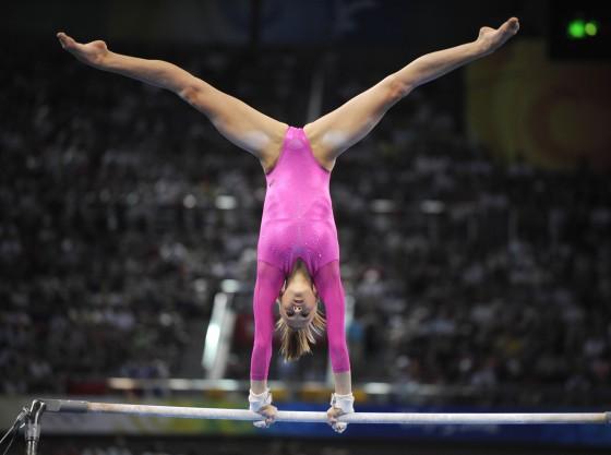 United States' Nastia Liukin competes o