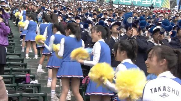 【春の甲子園】男が見ているのはパンチラ10代小娘チアガール達wwwwww(エロキャプ画像あり)