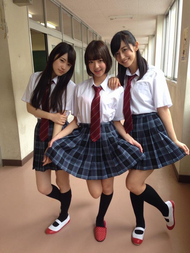 現役10代小娘と言えど乃木坂みたいな清楚娘からAV女優みたいなギャルまで様々だなwwwww(画像あり)