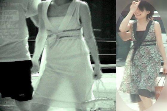ロックオンした女のパンツがスグに分かる赤外線カメラが有能すぎるwwwww(画像あり)
