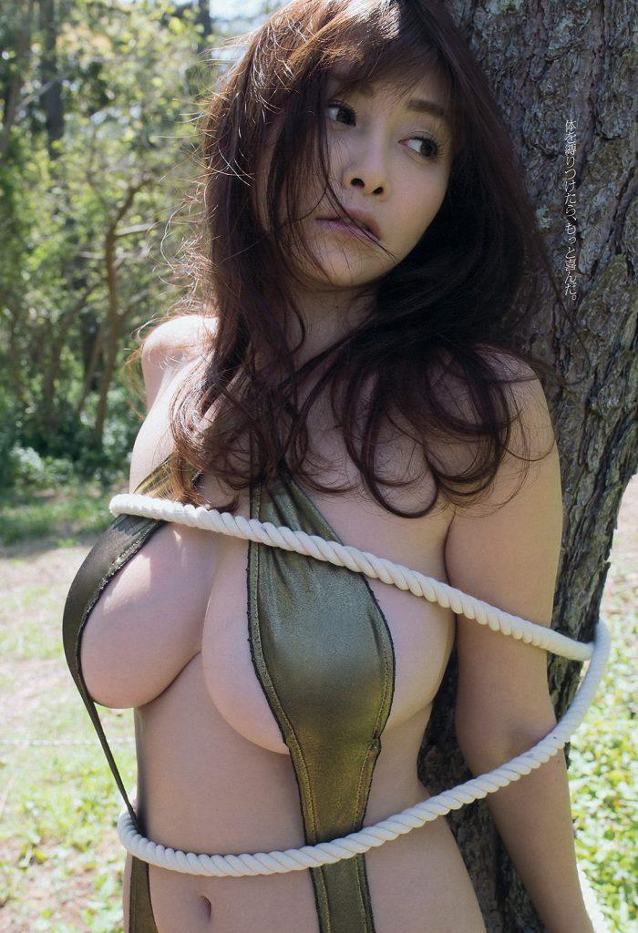 杉原杏璃 のおっぱいに顔を埋めたいwwwハミ乳最高www