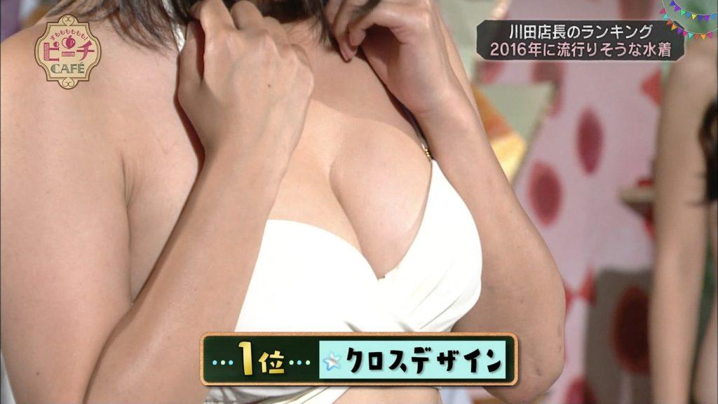 中村葵の水着がエロいキャプ画像集めたぜ!