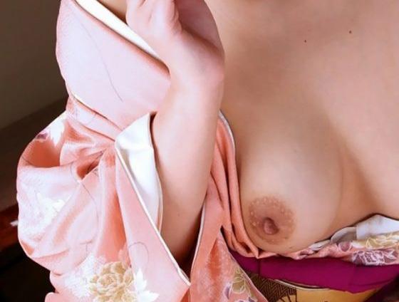 和服が似合う色気ムンムン美女のエロ画像31枚