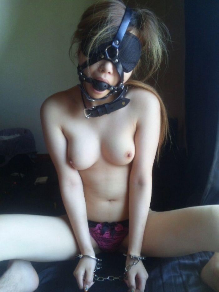 素人SM エロ画像18枚!拘束、緊縛、目隠しとドMちゃん調教するの楽しそうwww