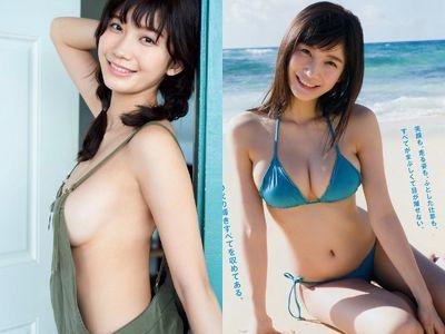 小倉優香(19)のHカップ最新水着グラビアエロ画像150枚
