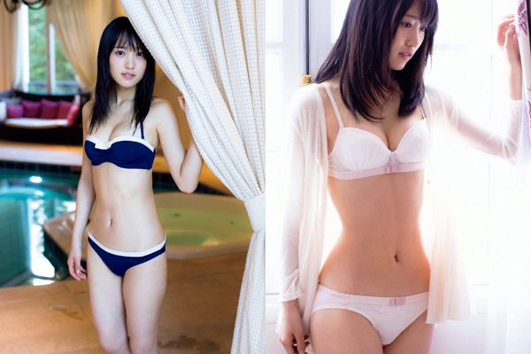 欅坂46菅井友香の下着姿や水着姿の写真集が永久保存版