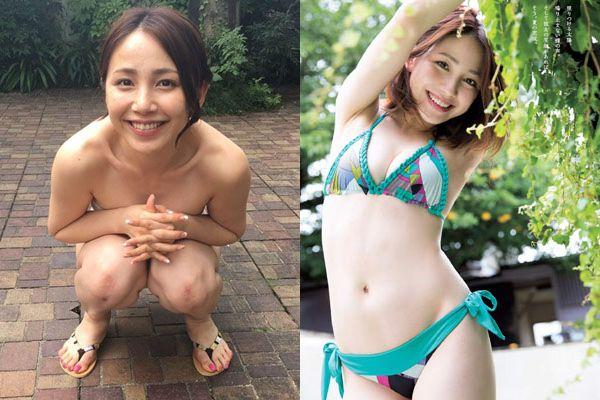 吉川友の全裸ヌードやぱいぱいでか美コスで見るおっぱい画像