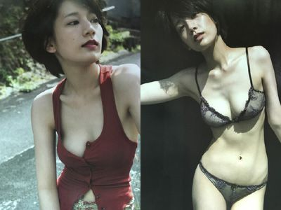 佐藤美希が初写真集でFカップを水着・下着姿を披露